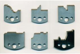 Profilēti naži 4 mm biezumā UNI-profila frēzgalvām