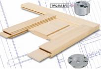 Instrumenti masīvkoka durvju ražošanai