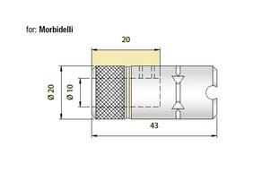 Urbju patrona Morbidelli iekārtām