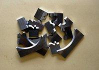 Профильные ножи Hss с рифленой задней поверхностью